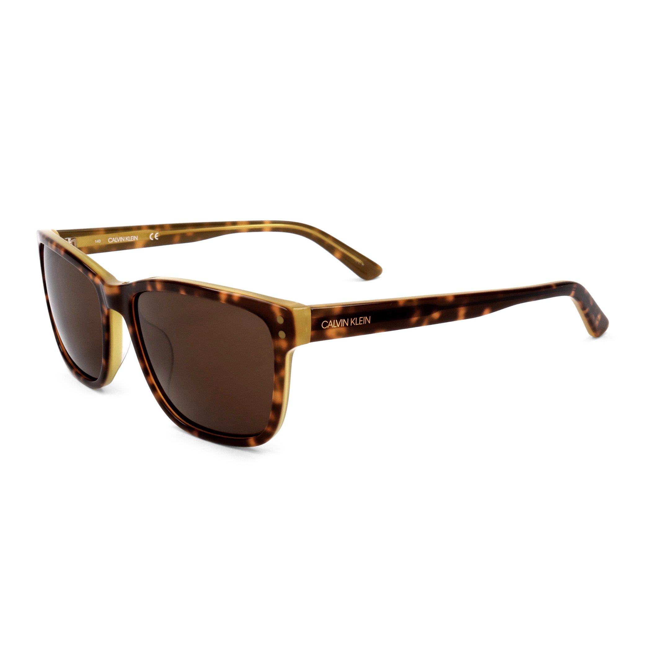 Calvin Klein Men's Sunglasses Various Colours CK18508S - brown NOSIZE