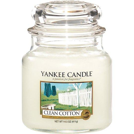 Clean Cotton, 411 g Yankee Candle Tuoksukynttilät