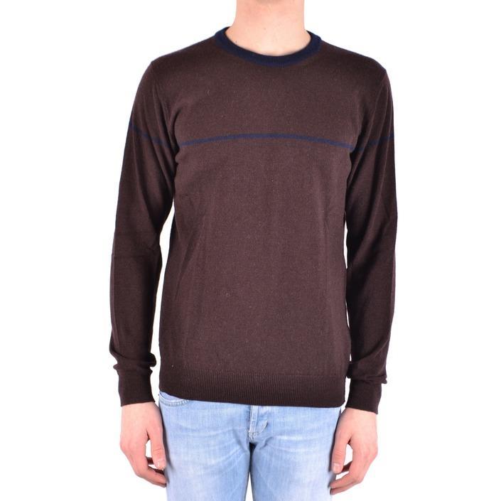Daniele Alessandrini Men's Sweater Brown 162952 - brown 48