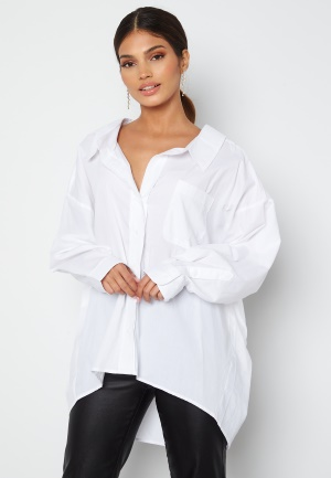 ONLY Sofia L/S Loose Shirt Bright White XS