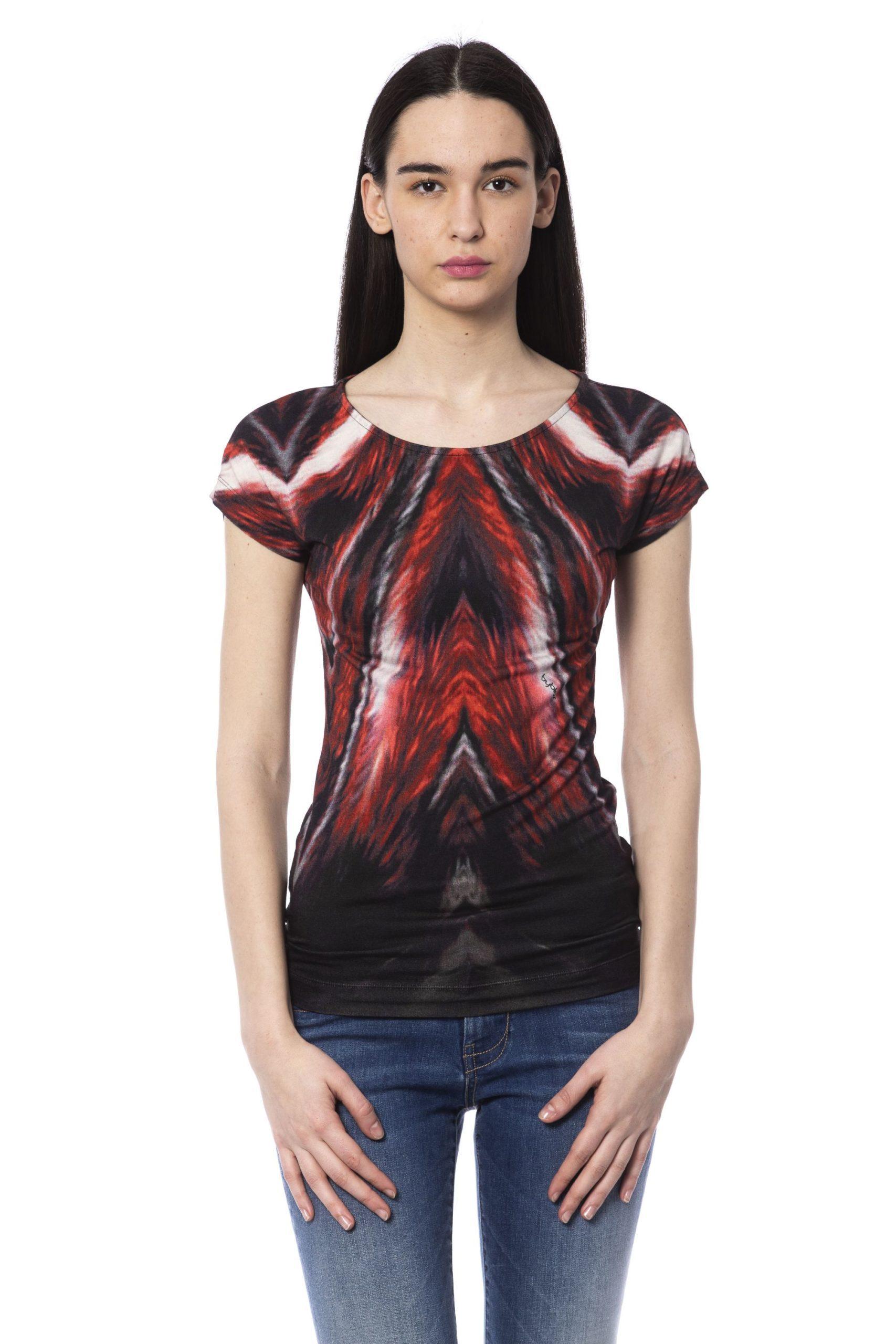 BYBLOS Women's T-Shirt Multicolor BY1234703 - XS