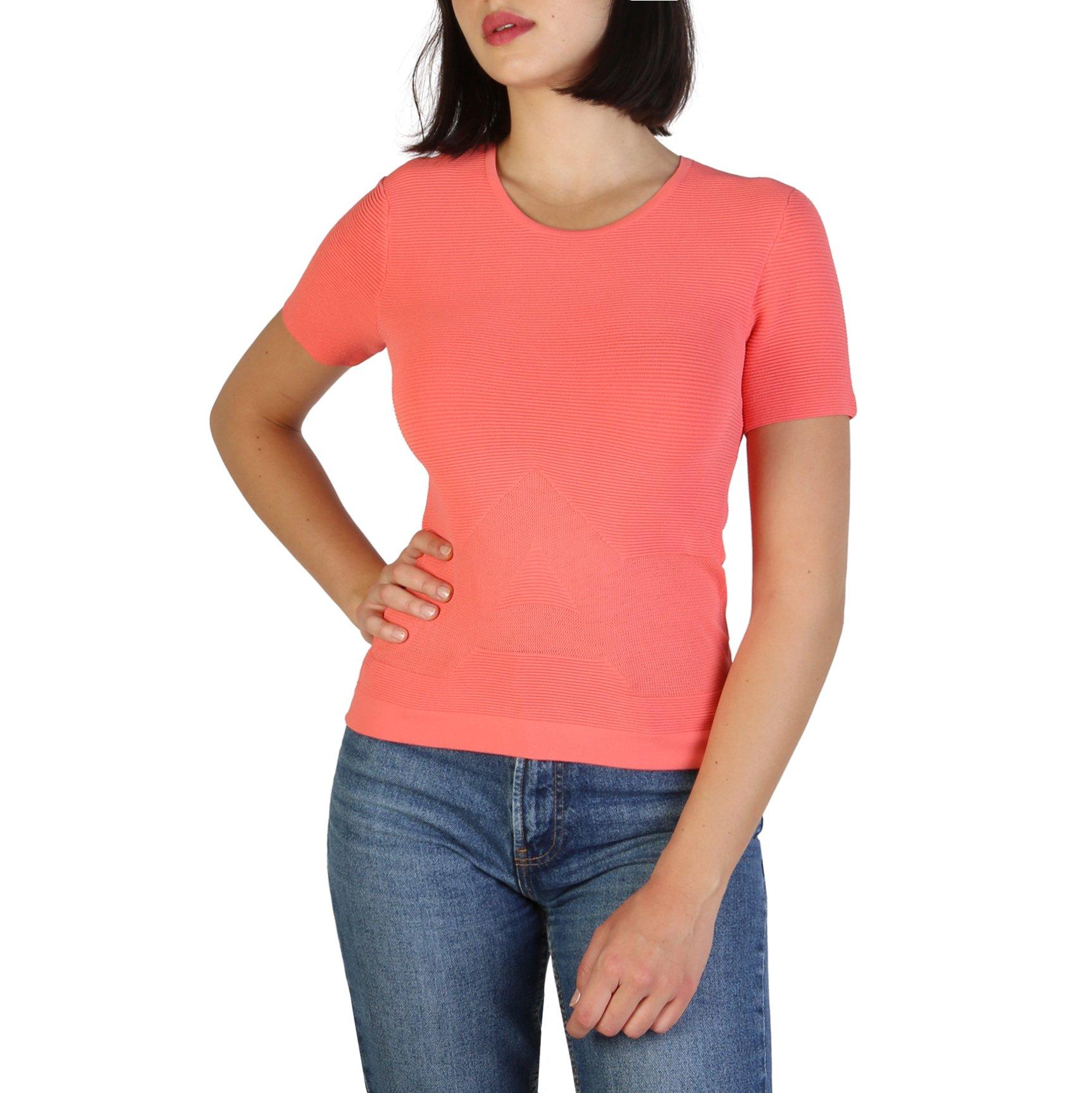 Armani Jeans Women's T-Shirt Various Colours 305053 - pink 42