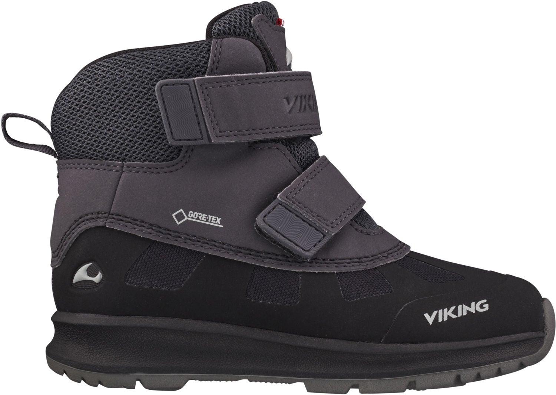 Viking Toby GTX Vinterkänga, Black/Charcoal, 20