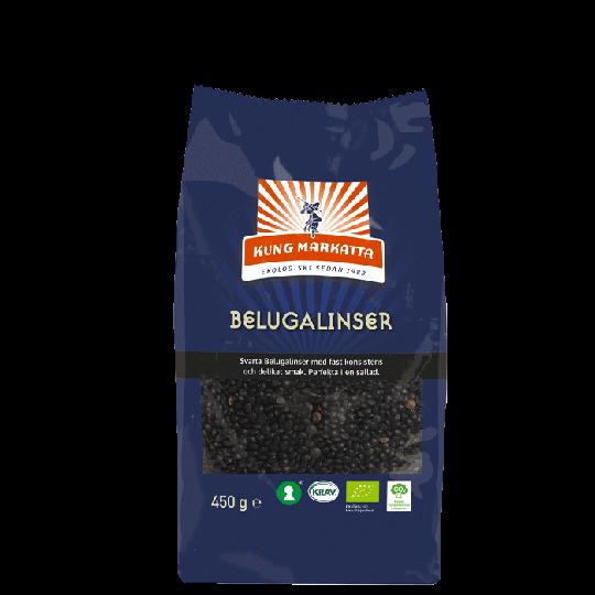 Belugalinser, 450 g