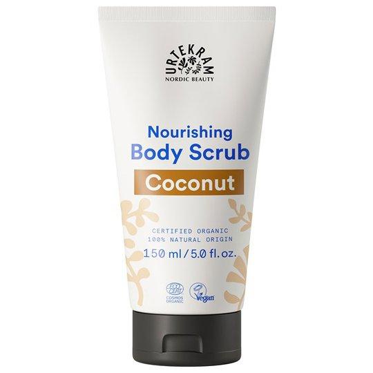 Urtekram Nordic Beauty Coconut Body Scrub, 150 ml