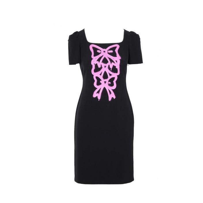 Boutique Moschino Women's Dress Black 171566 - black 40