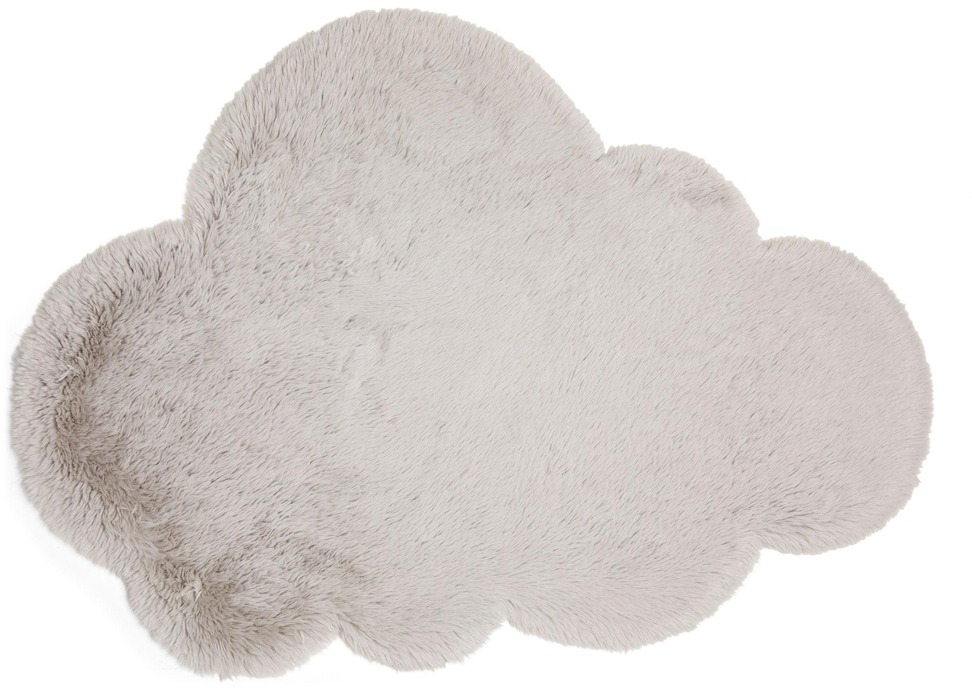 Alice & Fox Matto Fake Fur Cloud, Silver
