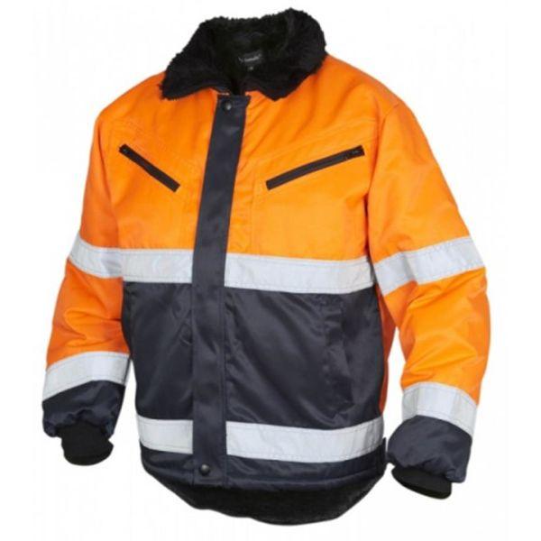 Top Swede 5616 Vinterjacka varsel, orange Strl S