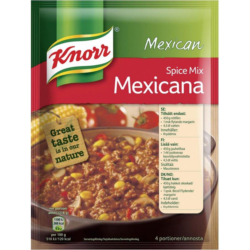"Pata-ainekset "" Mexicana"" 49 g - 73% alennus"