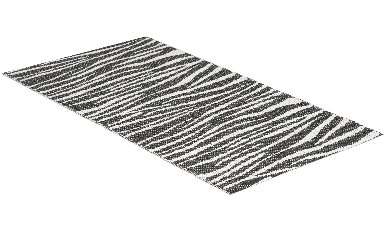 Zebra svart - plastteppe