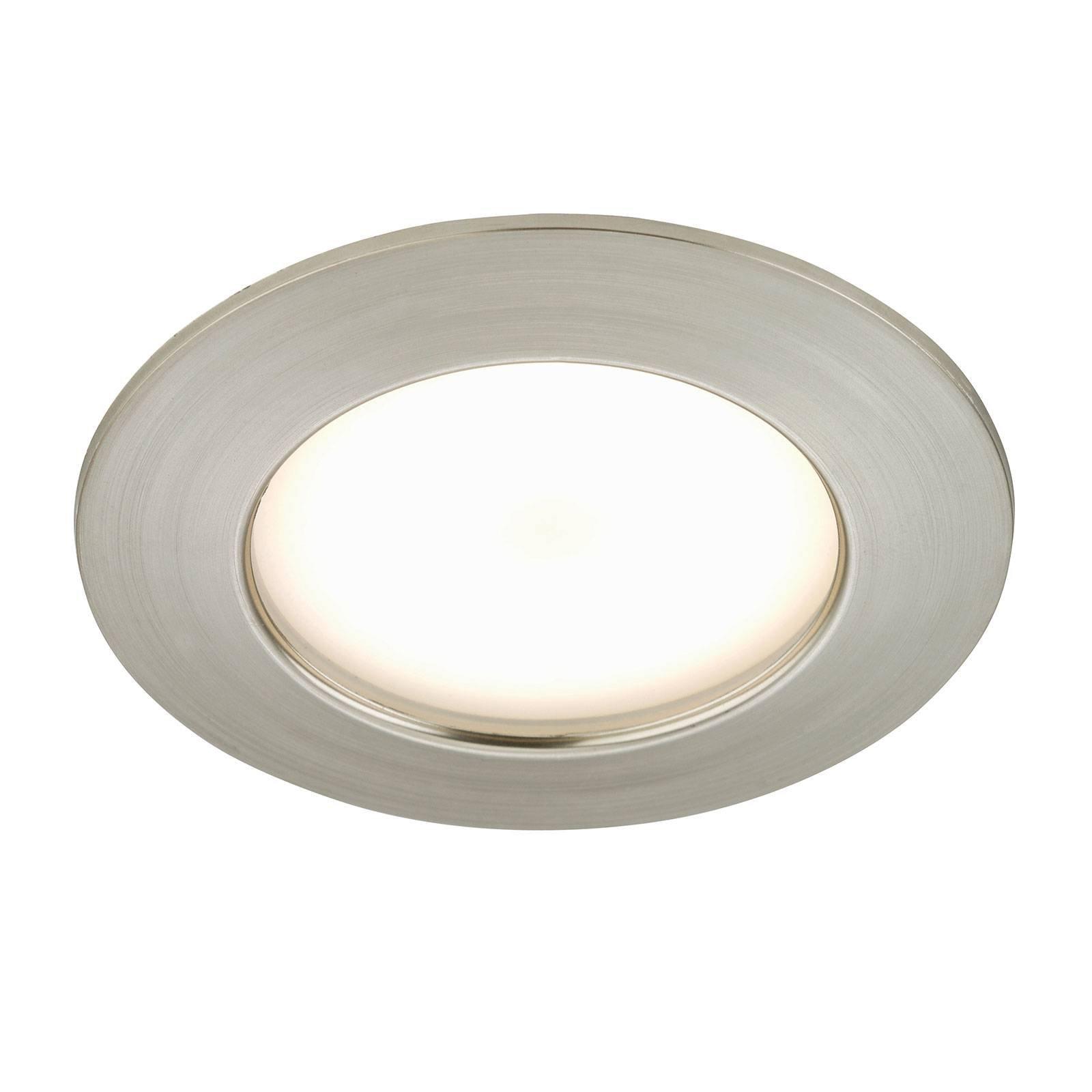 Carl - LED-downlight for uteområdet, matt nikkel
