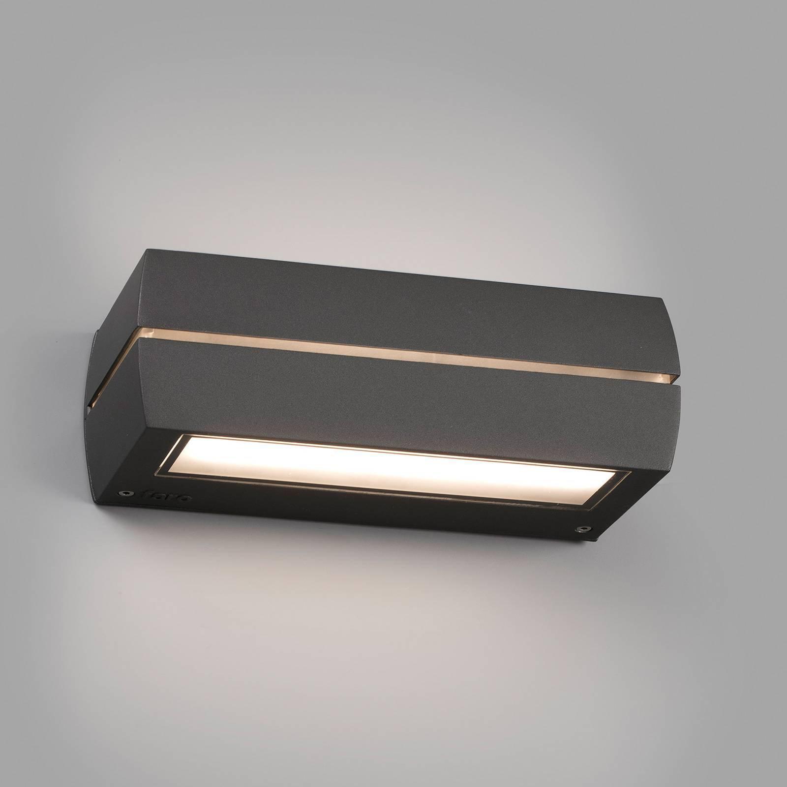 Utendørs LED-vegglampe Dragma