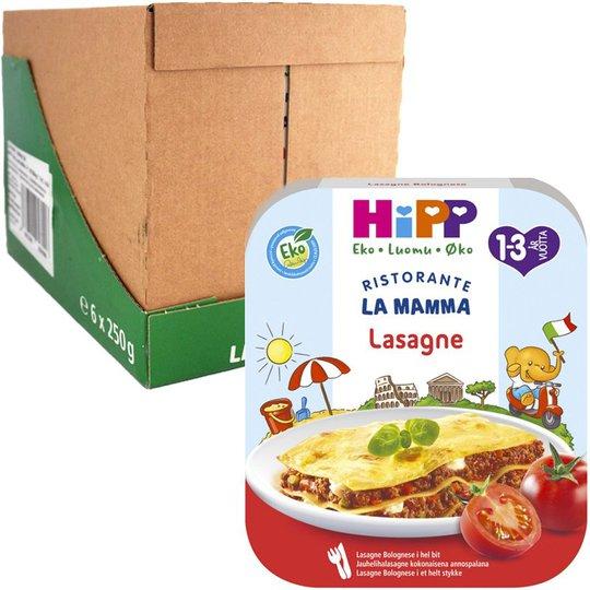 Laatikollinen Luomu Lastenruokaa 6 x 250g - 22% alennus