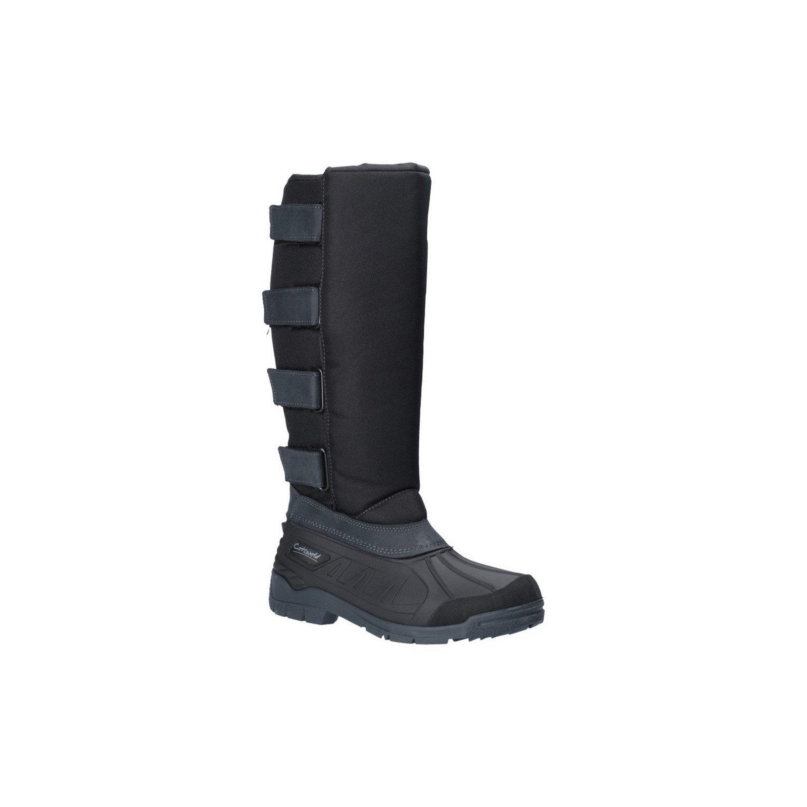 Cotswold Unisex Kemble Short Wellington Boot Black 26170 - Black 7