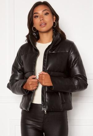 JDY Trixie Faux Leather Jacket Black S