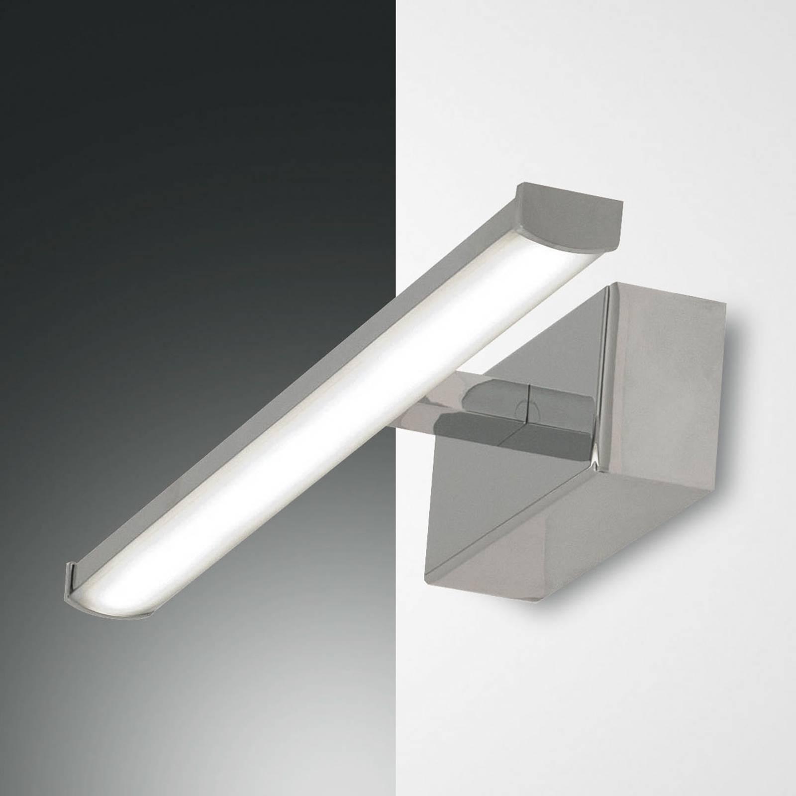 LED-seinävalaisin Nala, kromi, leveys 30 cm