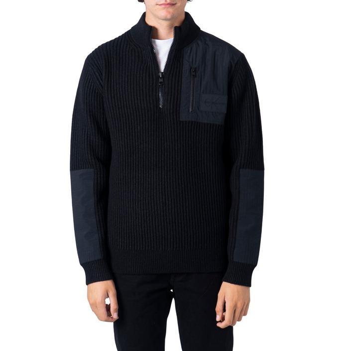 Calvin Klein Jeans Men's Sweatshirt Black 183338 - black M