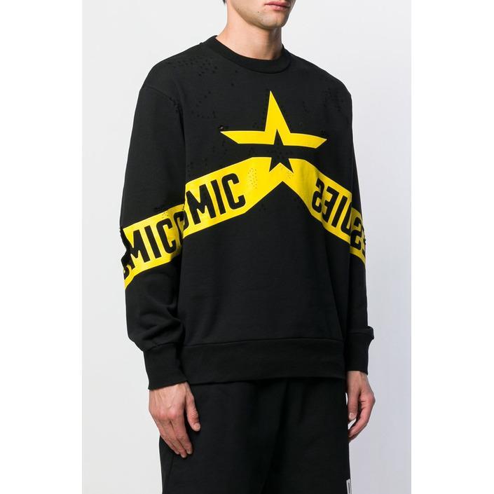 Diesel Men's Sweatshirt Black 294084 - black L