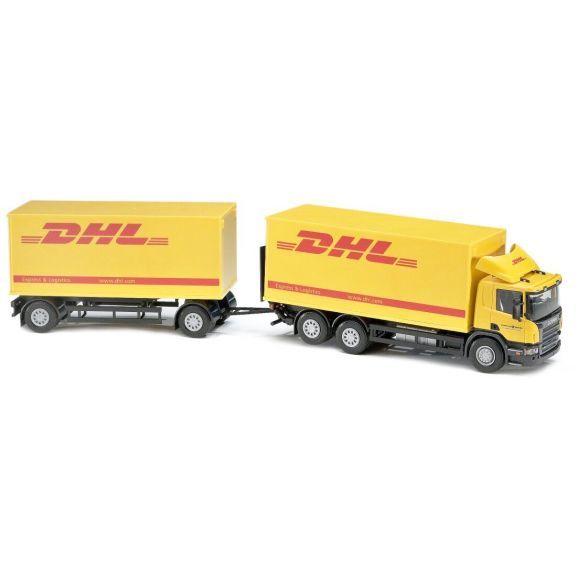 Emek Distrubutionsbil Med Släp Scania DHL
