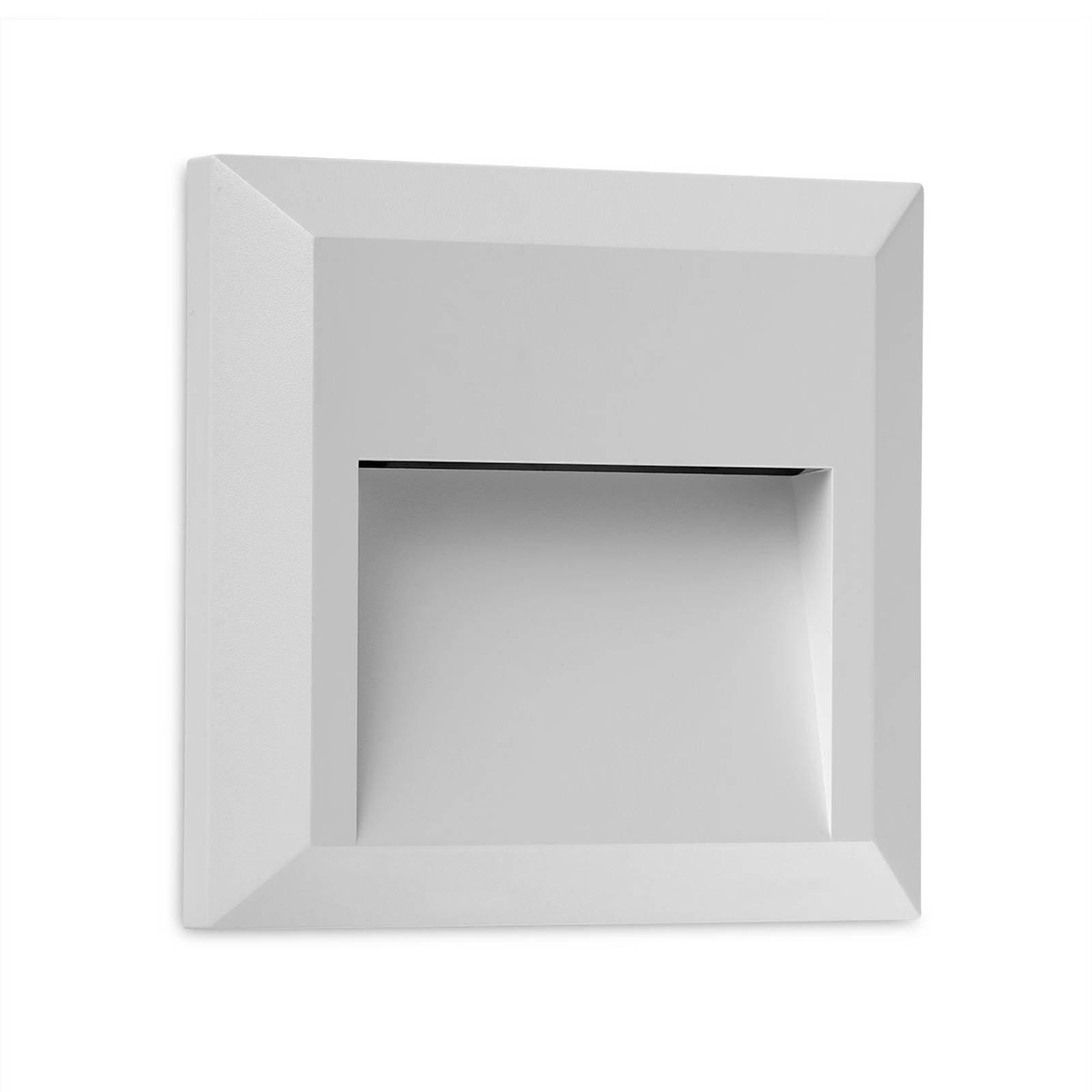 Kössel kvadratisk utendørs LED-vegglampe