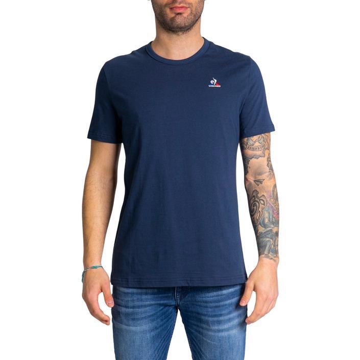 Le Coq Sportif Men's T-Shirt Blue 243400 - blue S