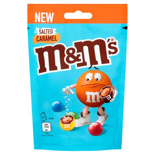 M&Ms Salted Caramel 102g