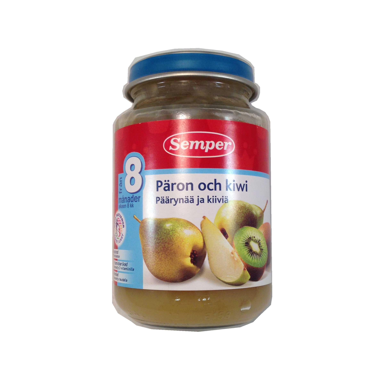 Päron- & kiwipurée - 33% rabatt