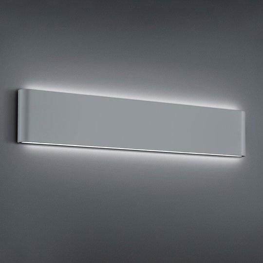 LED-ulkoseinälamppu Thames II, titaanin värinen