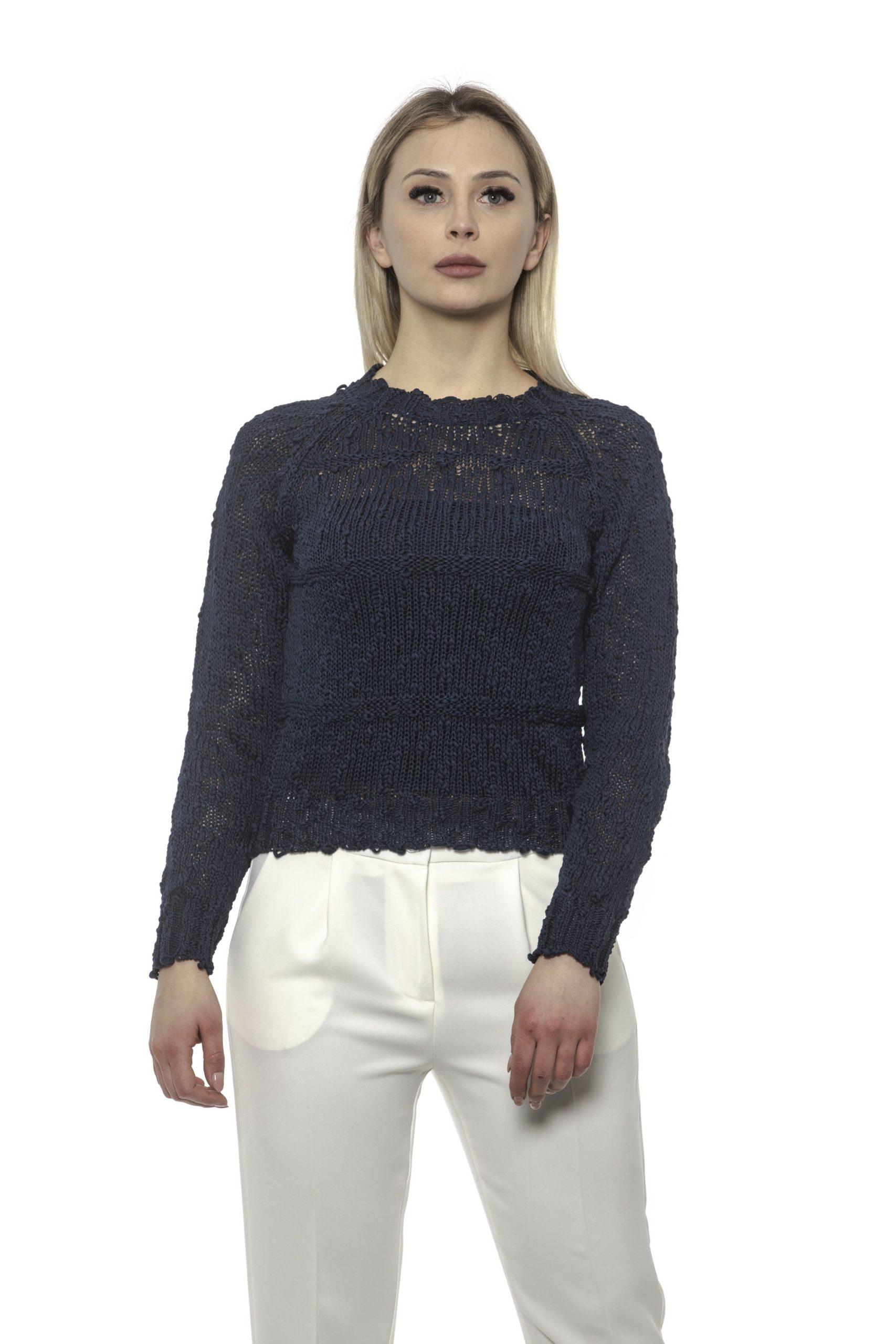 Alpha Studio Women's Notte Sweater Blue AL1375138 - IT40 | XS