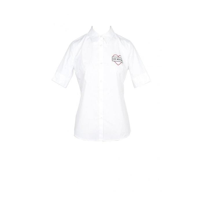 Love Moschino Women's Shirt White 170400 - white 44