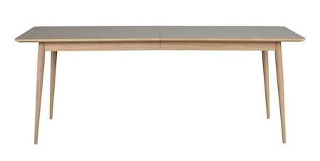 Dawsone Matbord Grå/Vitpigmenterad ek 200x90 cm