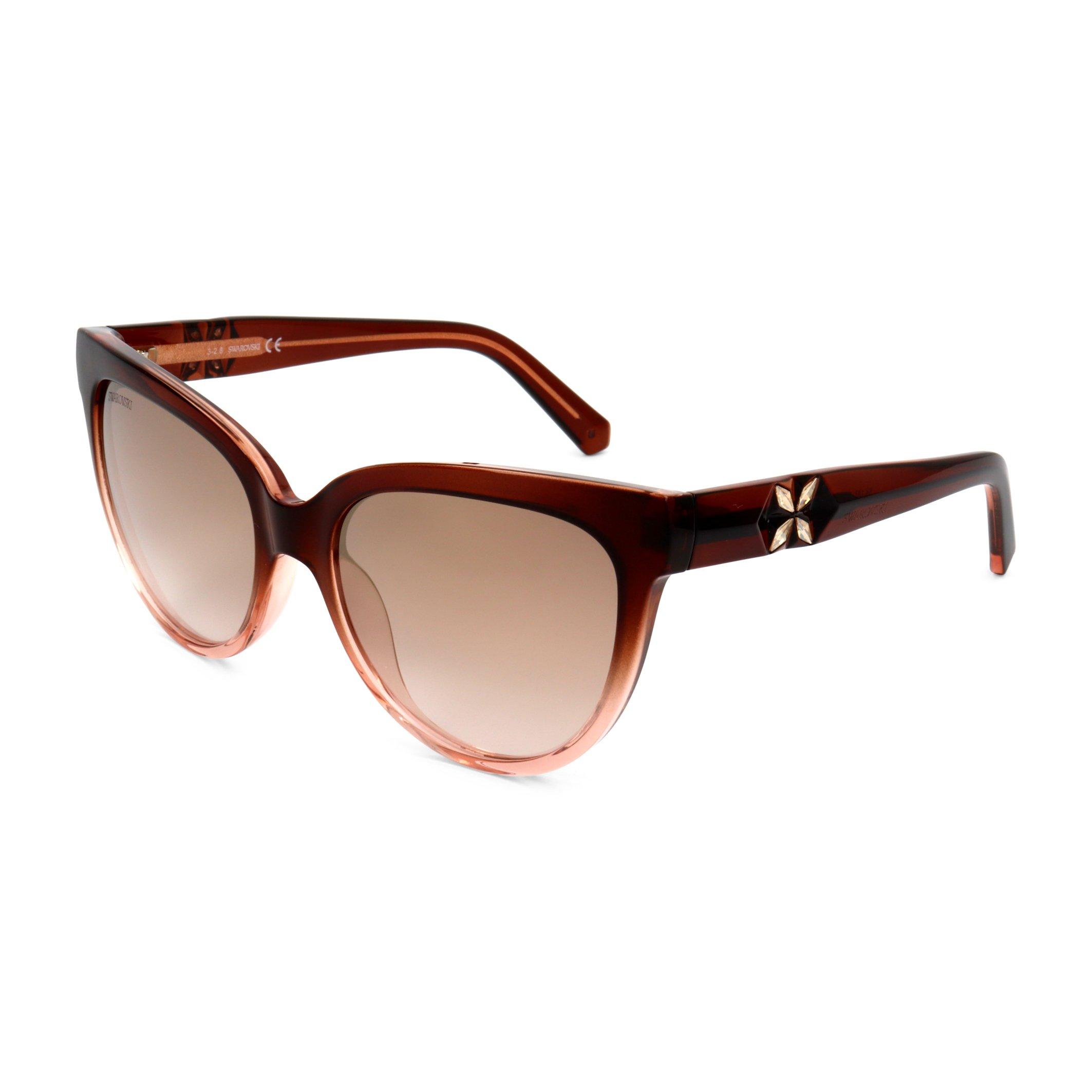 Swarovski Women's Sunglasses Brown SK0187 - brown-1 NOSIZE