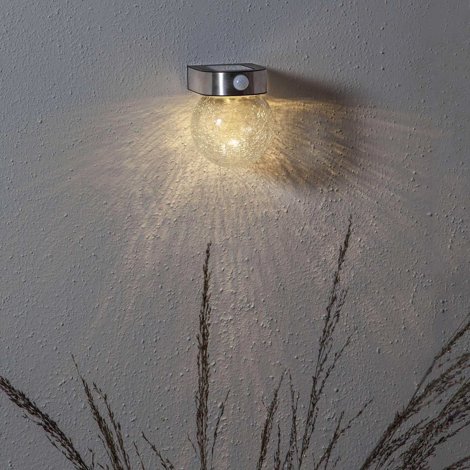Aurinkok. Gloy-LED-seinävalo liiketunnistimella