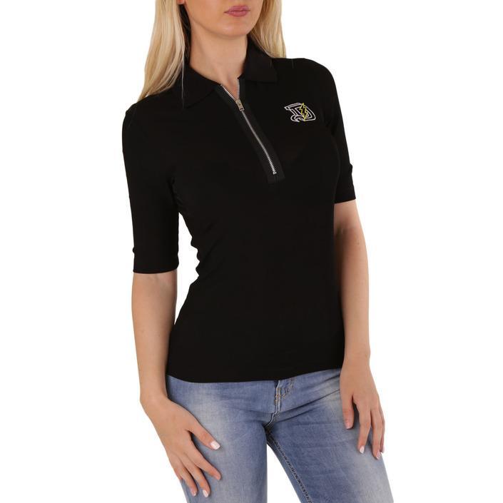 Diesel Women's Polo Shirt Black 302527 - black S