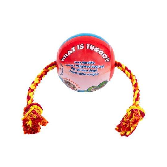 Little&Bigger Tuggo Boll med Rep Röd (25 cm)