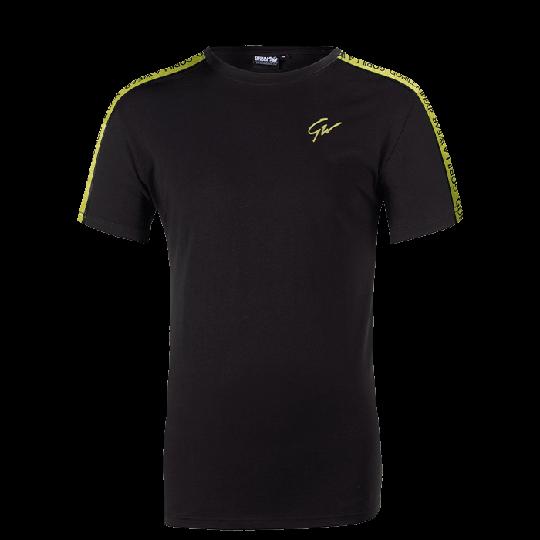 Chester T-Shirt, Black/Yellow