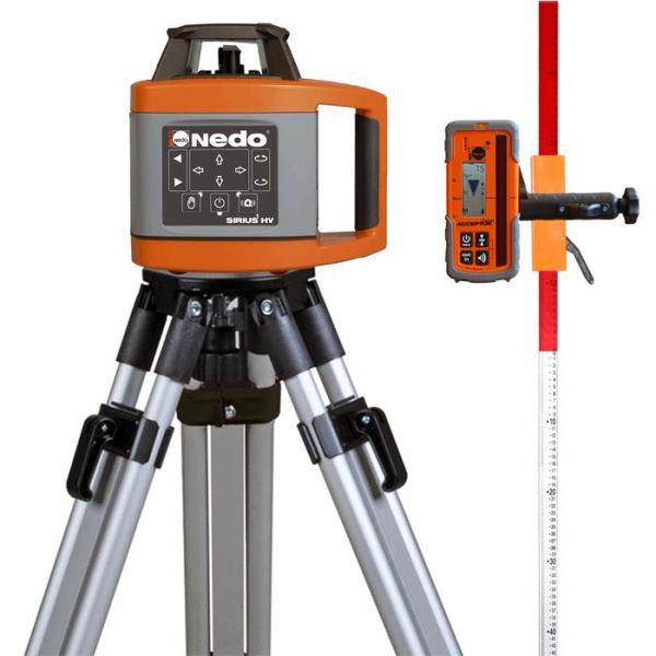 Nedo SIRIUS 1 HV Pyörivä laser, paketti