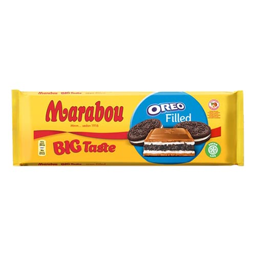 Marabou Big Taste Oreo Chokladkaka - 320 gram