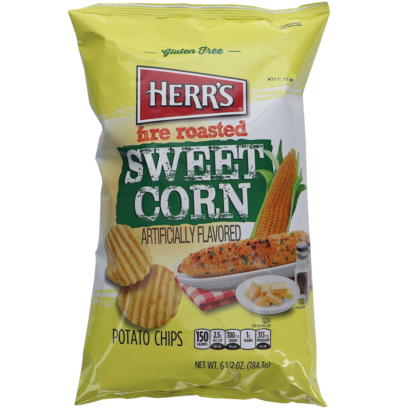 Potatischips Roasted Sweet Corn - 53% rabatt