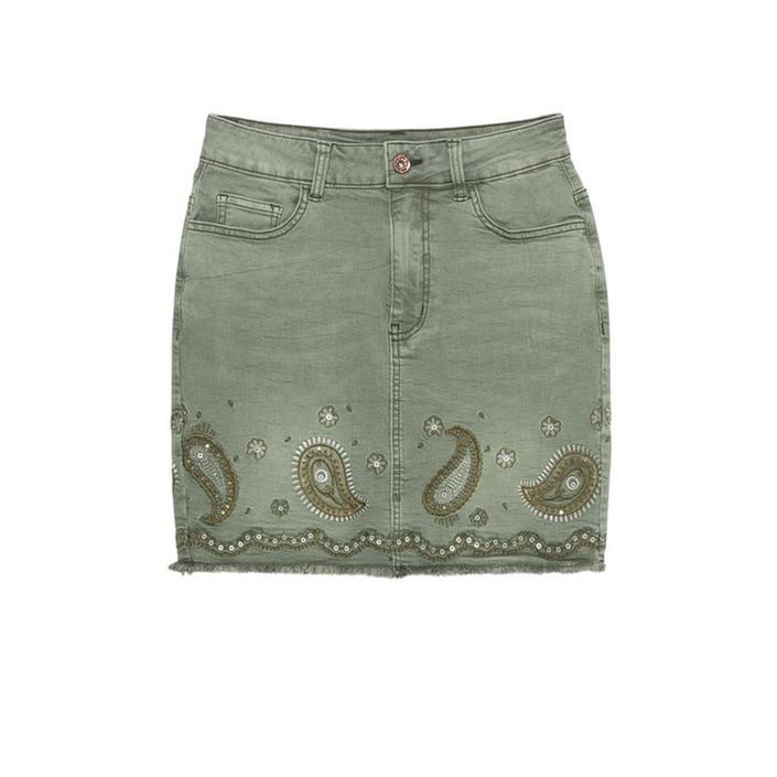 Desigual Women's Skirt Green 205351 - green w24