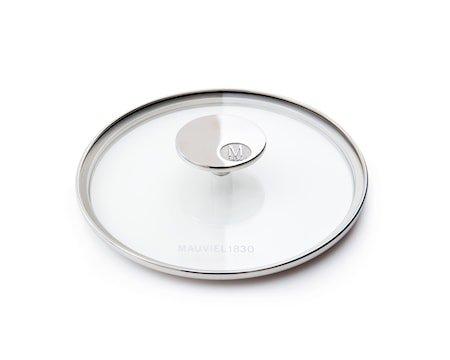 M'360 Glasslokk Ø20cm glass/stål