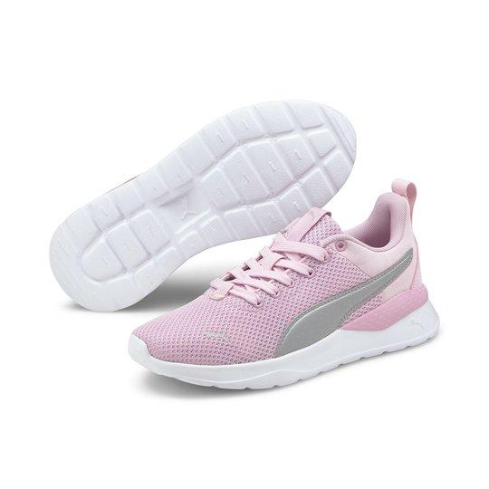 Puma Anzarun Lite Jr Sneaker, Pink Lady/Silver, 36
