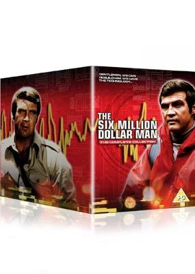 6 Million Dollar Man Complete - UK Import