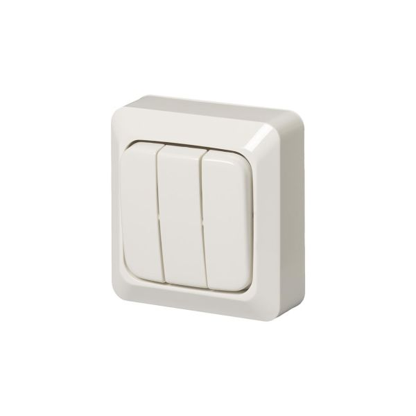 ABB 10631A4 Strømstiller utenpåliggende, IP20 3 x 1 pol