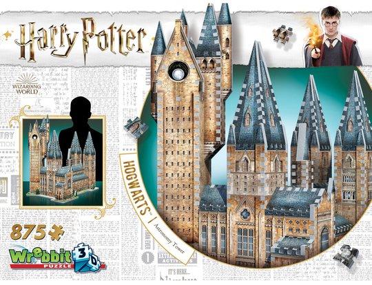 Harry Potter 3D-puslespill Hogwarts Astronomitårn 850 Biter