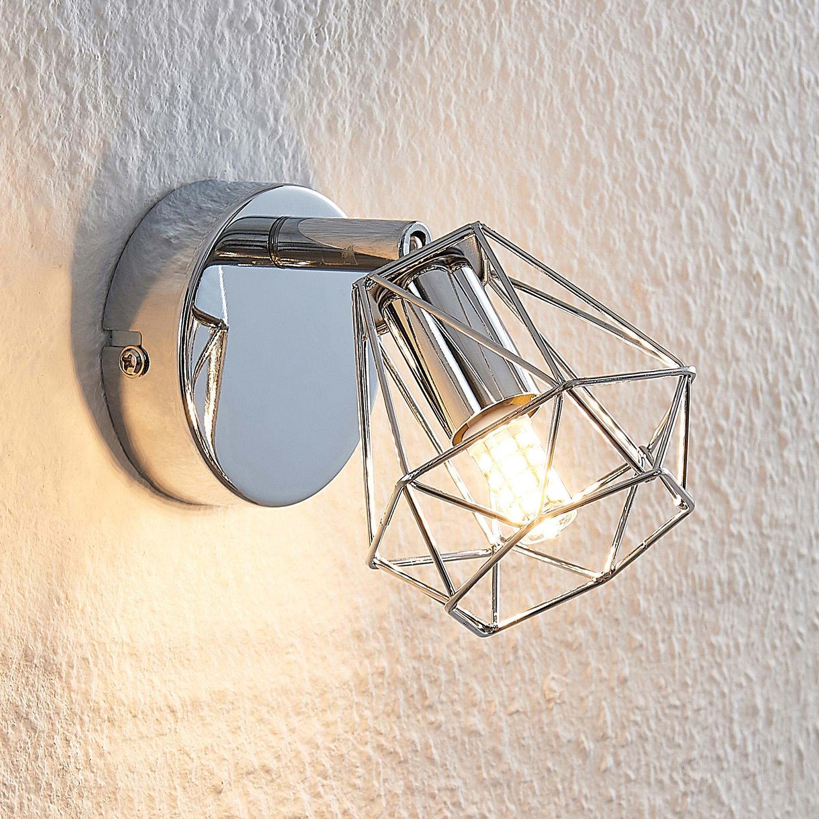Lindby Giada LED -seinävalaisin häkkivarjostimella