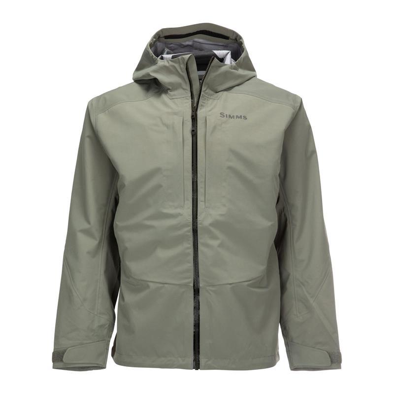 Simms Freestone Jacket XXL Striker Grey Vadejakke passende alle behov