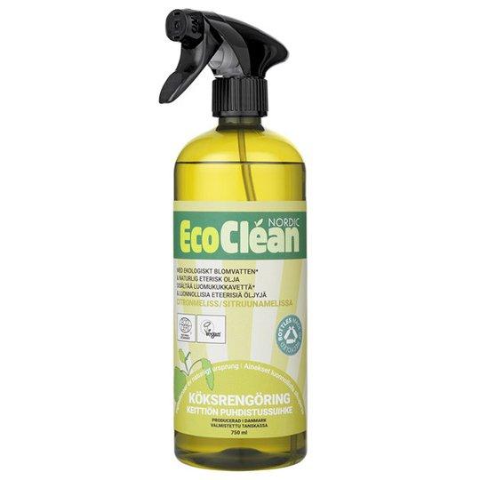EcoClean Nordic Naturlig Köksrengöring Citronmeliss, 750 ml