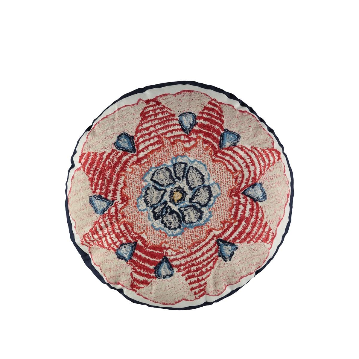 William Yeoward | Escaffo Circular Cushion Rouge