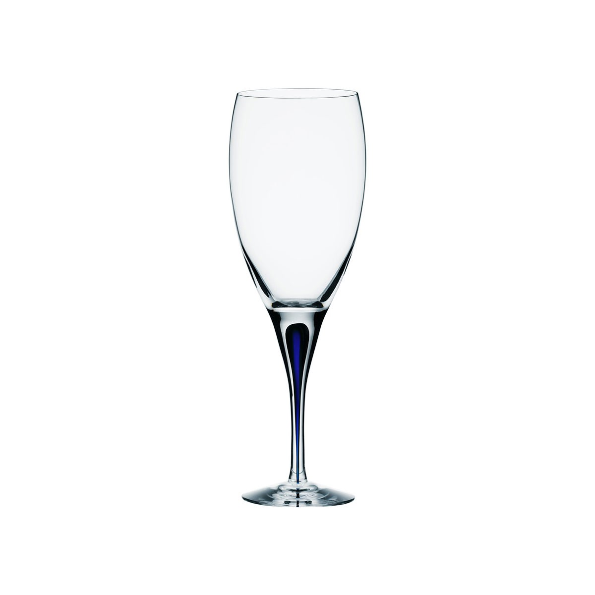 Orrefors Of Sweden I Intermezzo Blue Wine 32cl (25cl)
